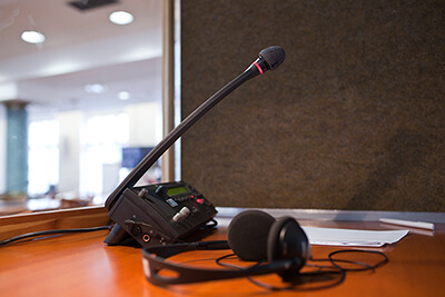 interpreting equipment for events